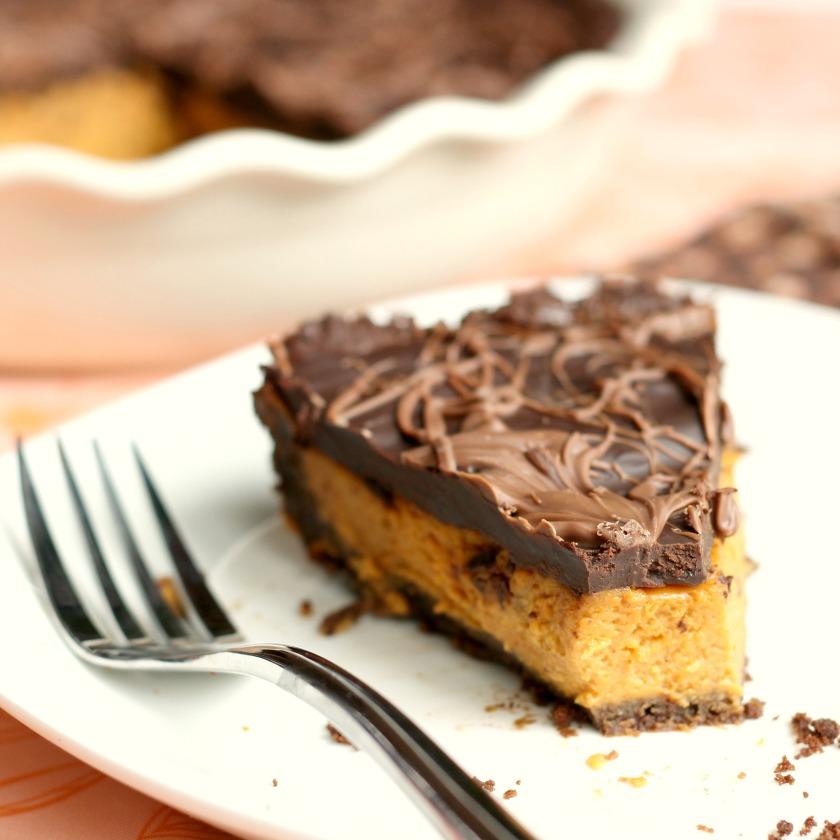 Chocolate Pumpkin Pie