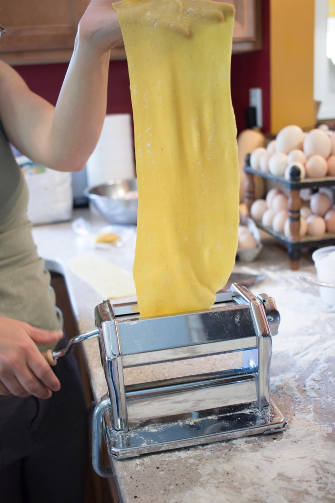 fresh pasta / forkful of awesome